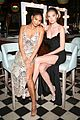 hailey baldwin and shay mitchell are beauties in black at revolve awards 2017 07