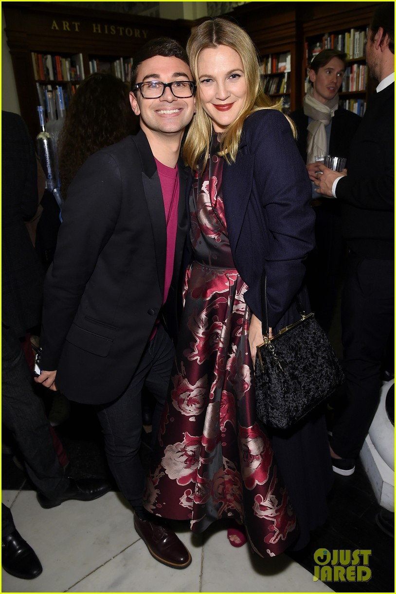 drew barrymore christina hendricks christian siriano dresses to dream about book launch 113984821