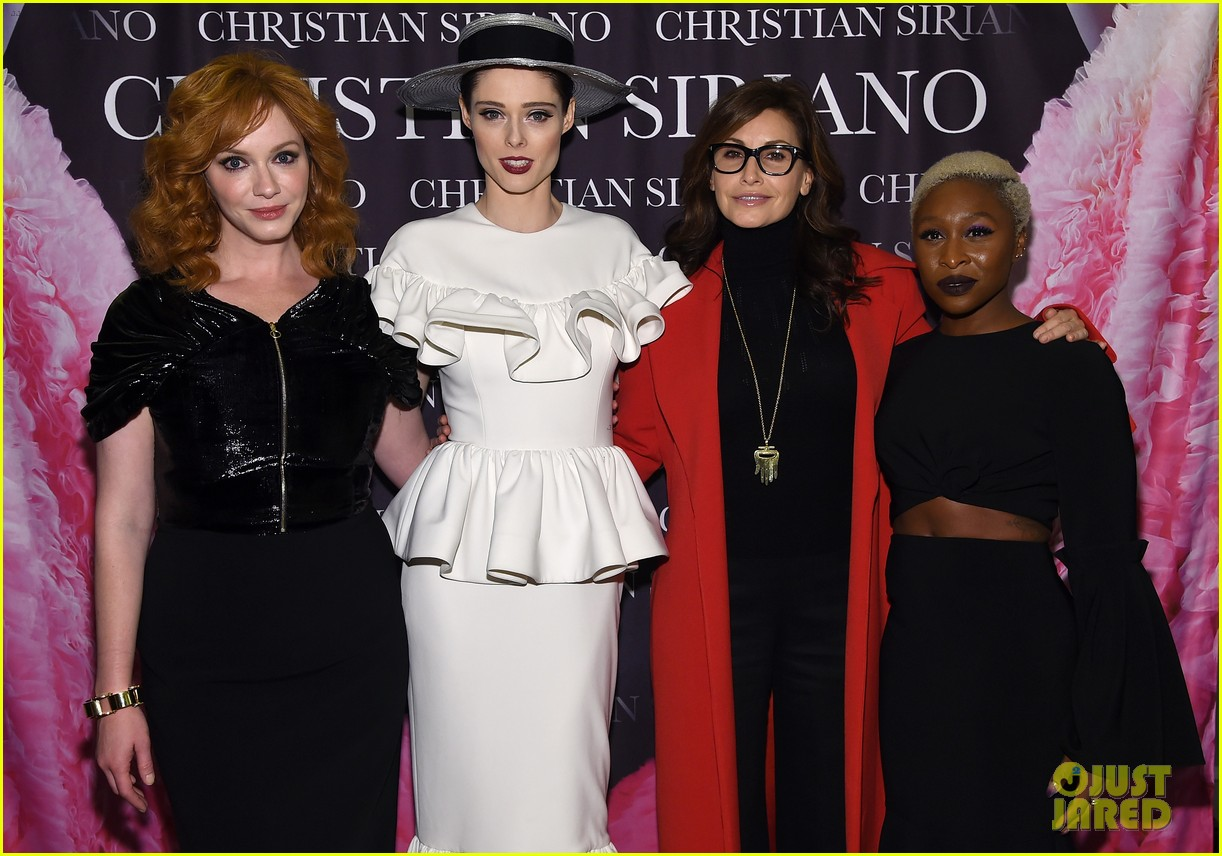 drew barrymore christina hendricks christian siriano dresses to dream about book launch 243984834