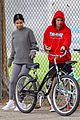 justin bieber selena gomez bike ride together 59
