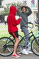 justin bieber selena gomez bike ride together 75