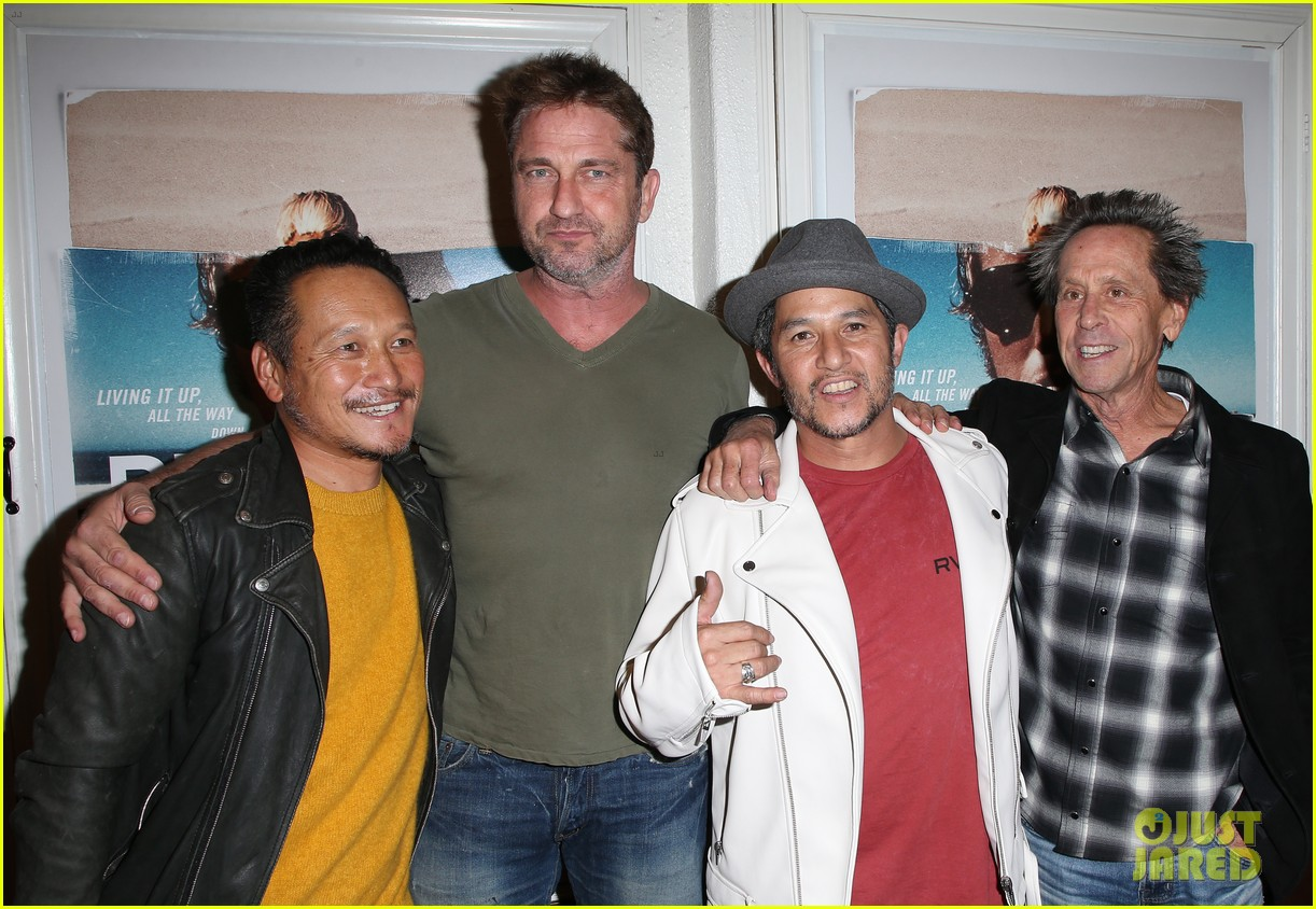 gerard butler joel kinnaman step out to support bunker77 doc premiere 103981172