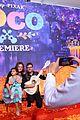 jonathan groff idina menzel join coco cast at marigold carpet premiere 14