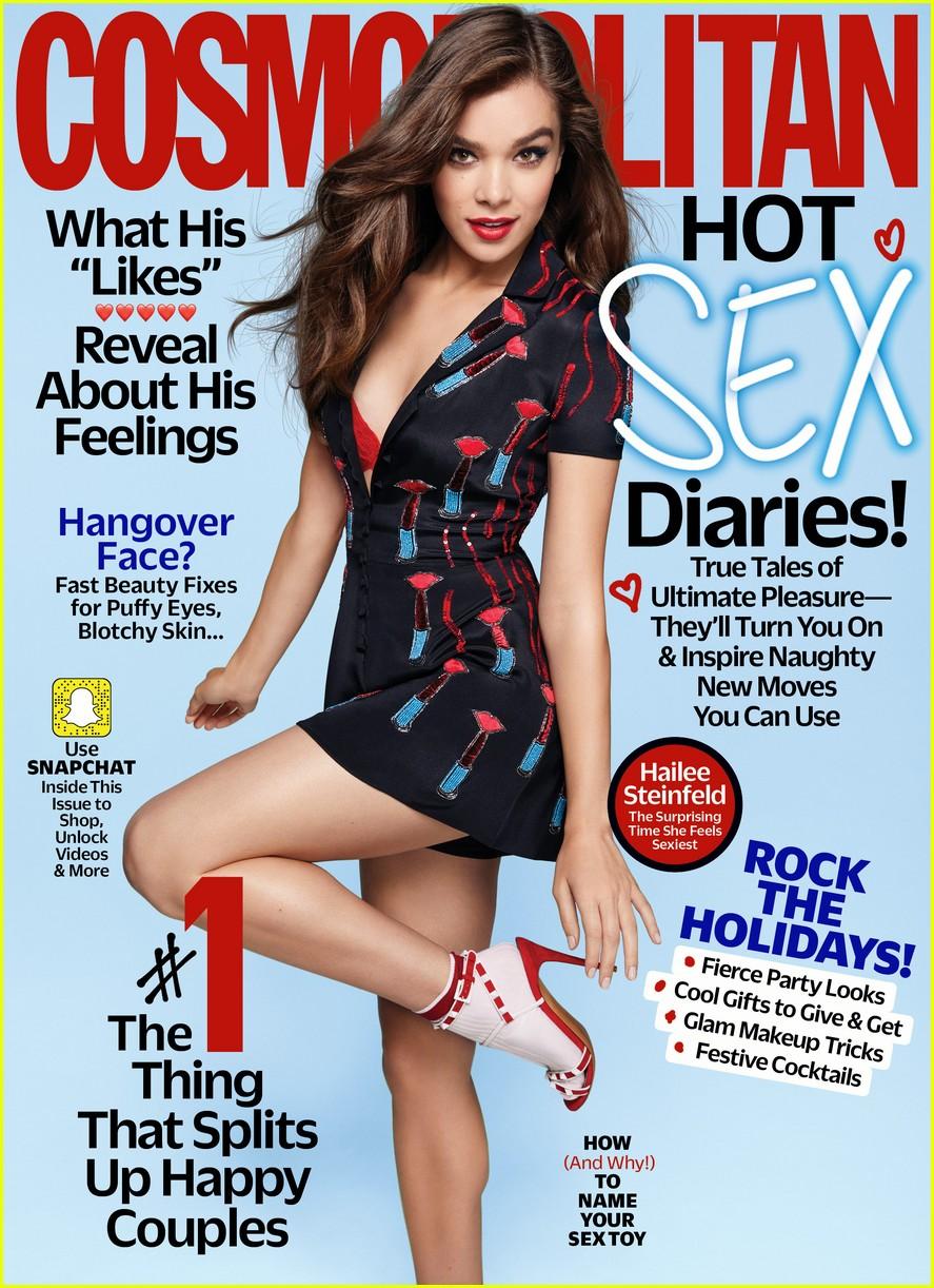 hailee steinfeld cosmopolitan 2017 december cover 013980894