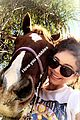 sarah hyland wells adams horseback riding date 07
