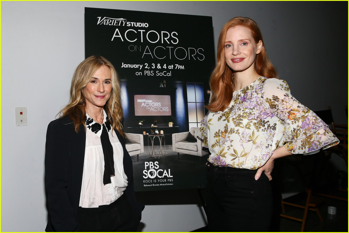 jennifer lawrence jessica chastain variety actors on actors 013986637
