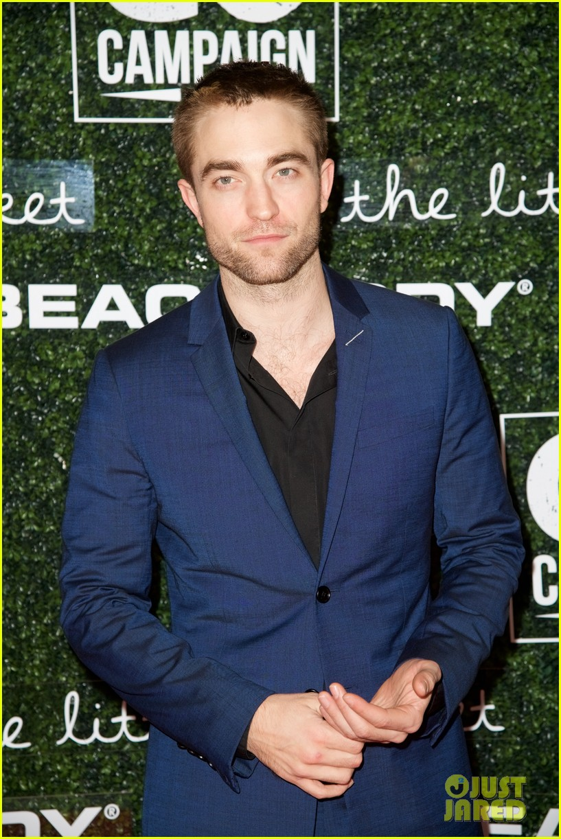 robert pattinson lily collins go campaign gala 053989667