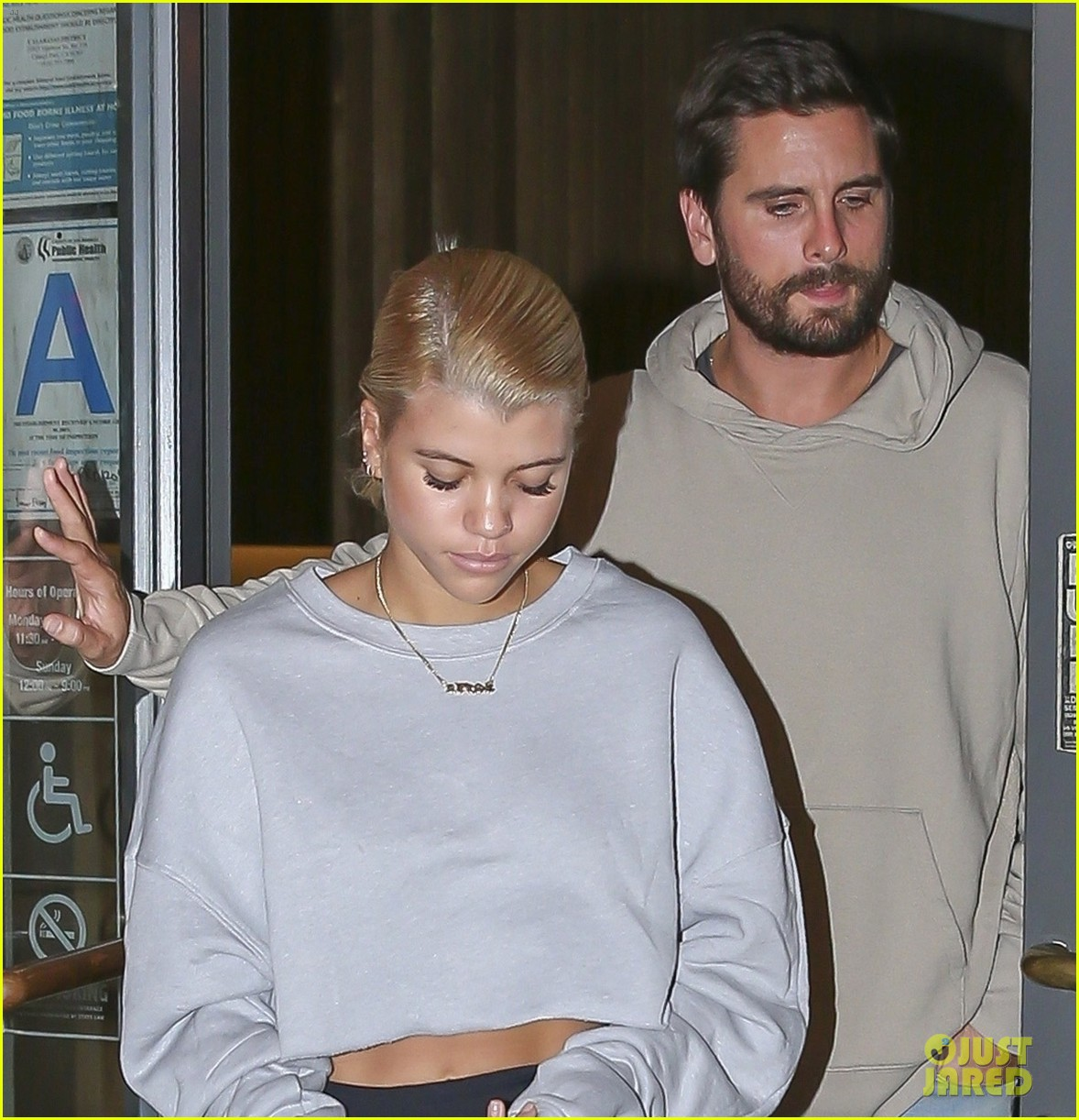 scott disick and sofia richie couple up for calabasas sushi date 013981848
