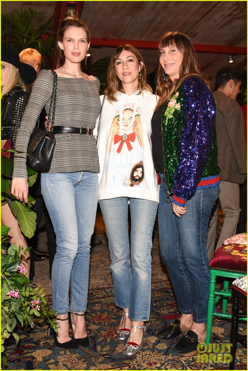 kelly rowland juno temple demi moore daughters celebrate gucci decor 073985417