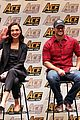 gal gadot henry cavill justice league cast close out ace comic con 03
