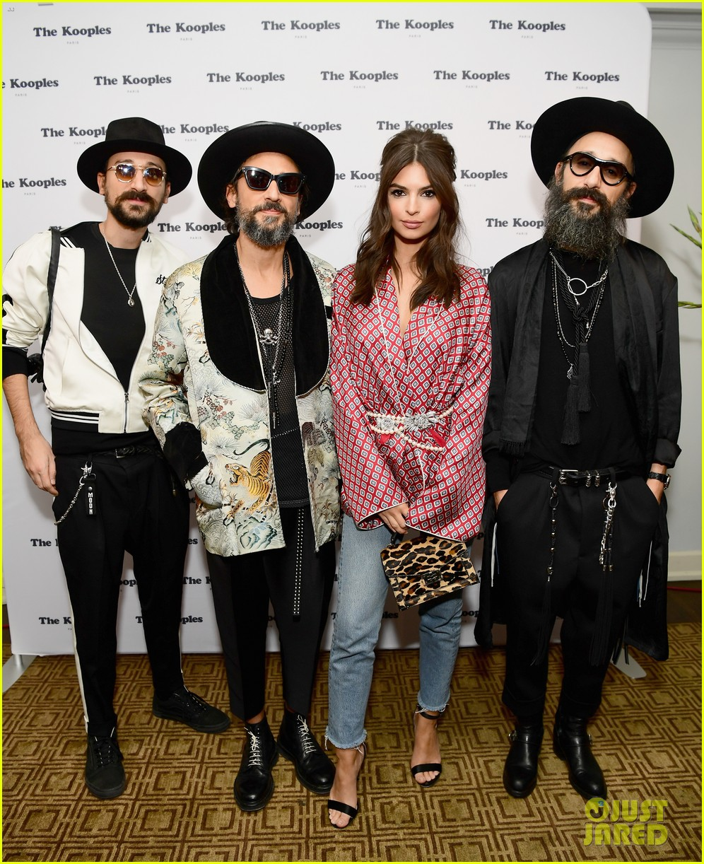 emily ratajkowski gets support from scott eastwood more at the kooples 033997216
