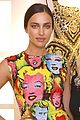 irina shayk wears marilyn monroe pop art on her dress 02