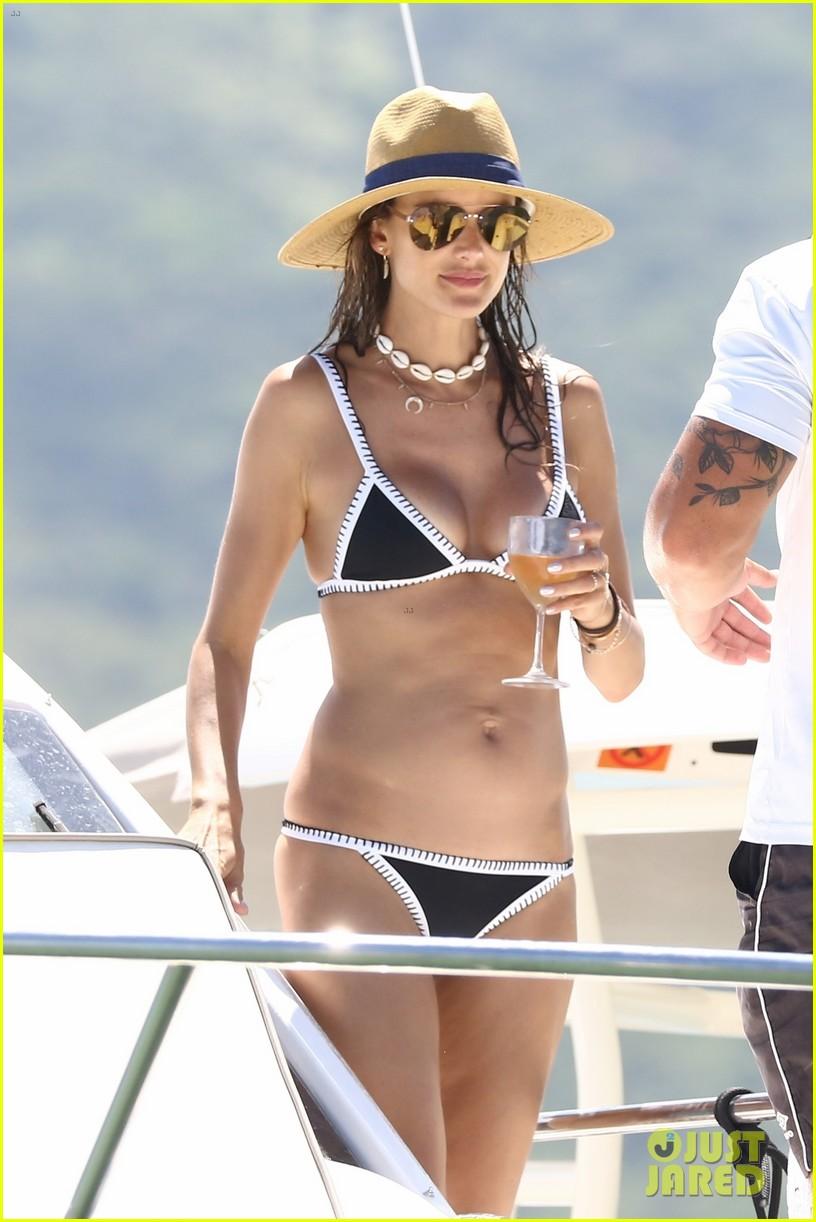 alessandra ambrosio bikini yacht vacation 044008235