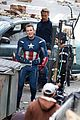 chris evans clean shaven throwback captain america suit 16
