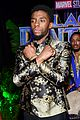 chadwick boseman and michael b jordan look sharp at black panther premiere 33