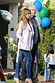 sofia vergara is pretty in pink while shooting modern family scene with ed oneill 10