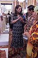 pregnant kate middleton attends fashion event at buckingham palace 15