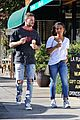 christina milian matt pokora grab ice cream in studio city 05