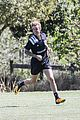 justin bieber plays soccer 14