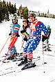 darren criss and fiancee mia swier hit the slopes for operation smile 11