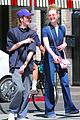 elle fanning is all smiles for ice cream date with male friend 03