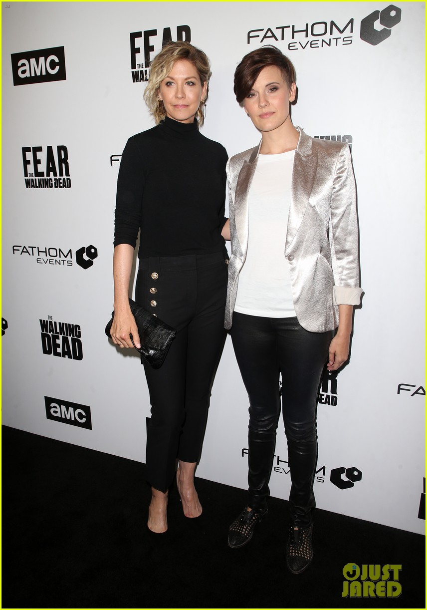 jenna elfman maggie grace more join forces at the walking deads survival sunday 04
