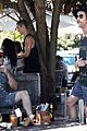 chris hemsworth matt damon out for lunch 39