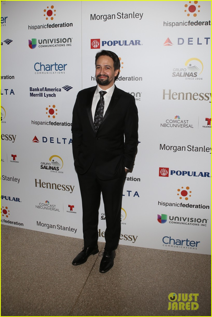 ricky martin lin manuel miranda suit up for rising stronger gala in NYC 03