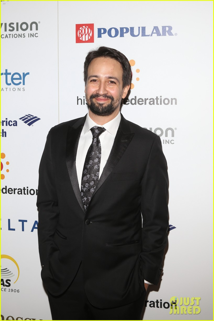 ricky martin lin manuel miranda suit up for rising stronger gala in NYC 07