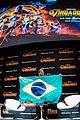 chris pratt reunites with during avengers infinity war brazil press tour 06