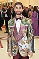 darren criss rocks sparkling blazer for met gala 03
