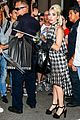 lady gaga is joined by boyfriend christian carino at the studio 10