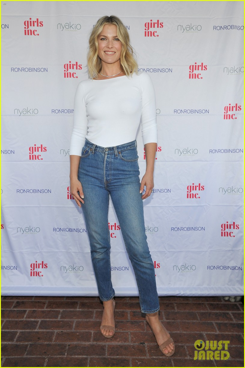 ali larter is joined by selma blair at nyakio launch event in LA 422