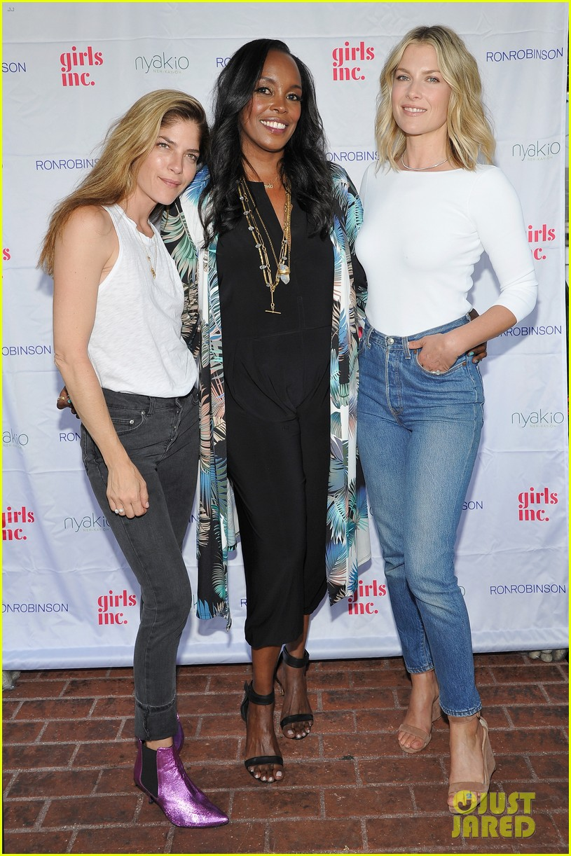 ali larter is joined by selma blair at nyakio launch event in LA 806