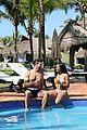 rachel lindsay bryan abasolo relax by the pool 05