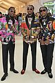 migos match in colorful versace suits and major bling at met gala 2018 04