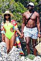 gabrielle union and shirtless dwyane wade show some sweet pda on vacation 03
