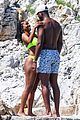 gabrielle union and shirtless dwyane wade show some sweet pda on vacation 04
