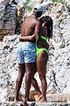 gabrielle union and shirtless dwyane wade show some sweet pda on vacation 26