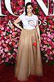 jenna ushkowitz rachel bloom hit the red carpet at tony awards 02