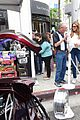 caitlyn jenner celebrates fathers day at concours delegance car show 27