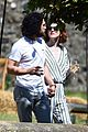kit harington rose leslie day after wedding lunch 04