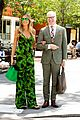 heidi klum reunites with tim gunn 07