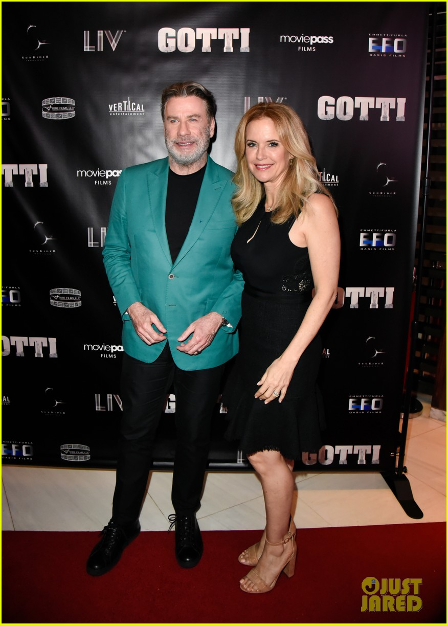 john travolta and kelly preston celebrate gotti in miami 11