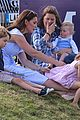prince william plays polo family watches 29