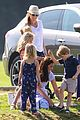 prince william plays polo family watches 37