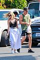 chris pine annabelle wallis los feliz july 2018 02