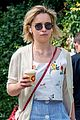 emilia clarke grabs a coffee during sunny stroll in london 03