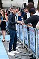 tom hardy charlotte riley swimming with men premiere 08
