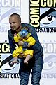 aaron paul breaking bad reunion comic con 01